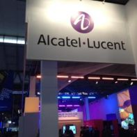 Alcatel-Lucent booth