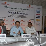 Telecom secretary MF Farooqui promises more action to solve issues