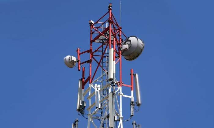 telecom tower in India rural area