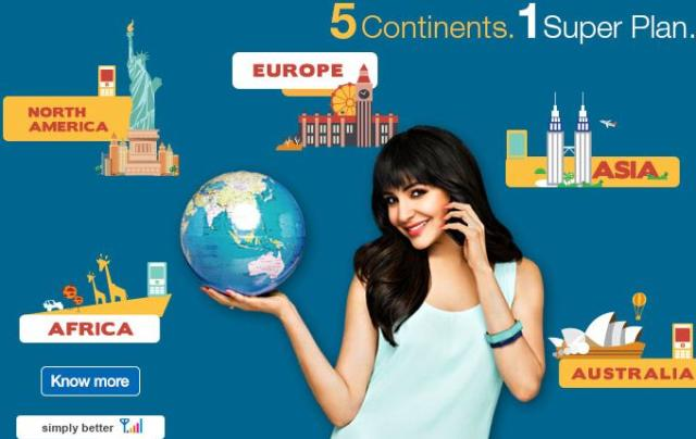 Reliance Communications roaming plans