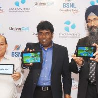 Datawind tablets and BSNL tie-up