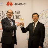 Telefonica signs Huawei