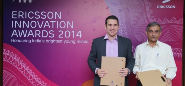 Ericsson announces innovation awards for IIT students