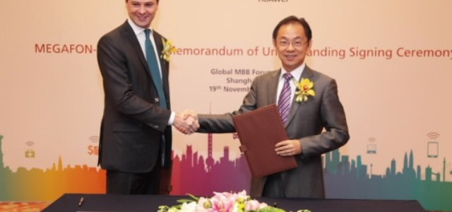 Huawei Signed 5G Memorandum of Understanding with MegaFon in Shanghai