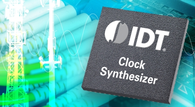 IDT releases new synthesizer with low phase jitter