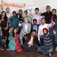 Nimbuzz Holaa team with Nigel Eastwood and Vikas Saxena