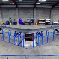 Facebook solar-powered drone to beam internet from sky