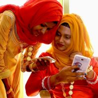 Mobile phone user in Middle East by Ooredoo Maldives