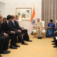 Modi and CEOs of US technology firms