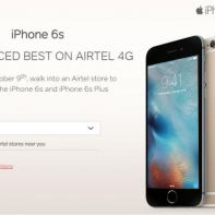 Airtel and iPhone 6s offer