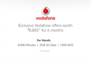 Apple iPhone 6s comes with Vodafone free offers