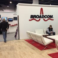 Broadcom at a trade event