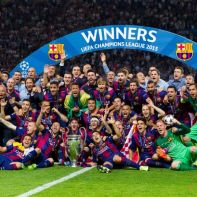 Barcelona football team 2015