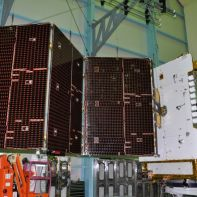 GSAT-15 satellite in action