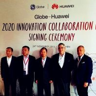 Globe Telecom in 5-year network deal with Huawei to expand internet