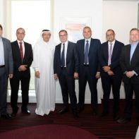 Ooredoo Group and Alcatel Team