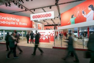 Ooredoo booth at Mobile World Congress 2016