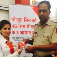 Vodafone 4G SIM launch in Haryana