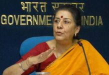 Ambika Soni, minister for Information and Broadcasting