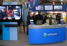 Intelsat booth (source: blog.intelsat.com)