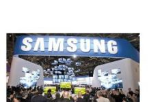 Samsung Booth (source: english chosun)