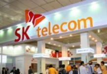 sk telecom booth koreai