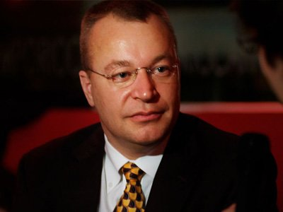 Stephen Elop, president and chief executive officer, Nokia