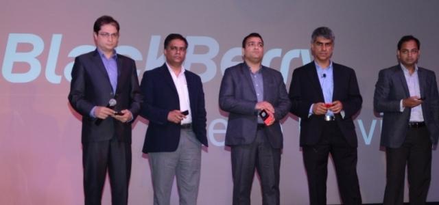 From L- R- Advait Vaidya-  Head - Product Management, Prosenjit Sen- Director, Channel Sales, Sameer Bhatia- Director Distribution, Sunil Lalvani, Managing Director, Ashish Gupta, Director- Marketing-