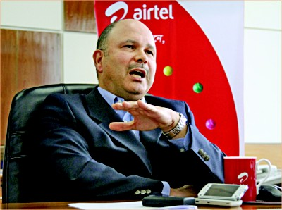 Chris Tobit, CEO & managing director, Airtel Bangladesh.