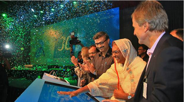 Grameenphone launches 3G in Bangladesh