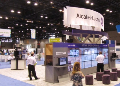 Alcatel lucent booth