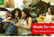 Vodafone mobile Internet rate