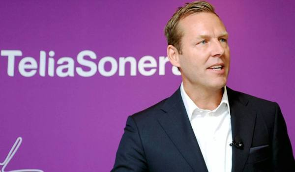 Johan Dennelind, president and CEO of TeliaSonera