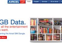 AIRCEL INDIA PLANS