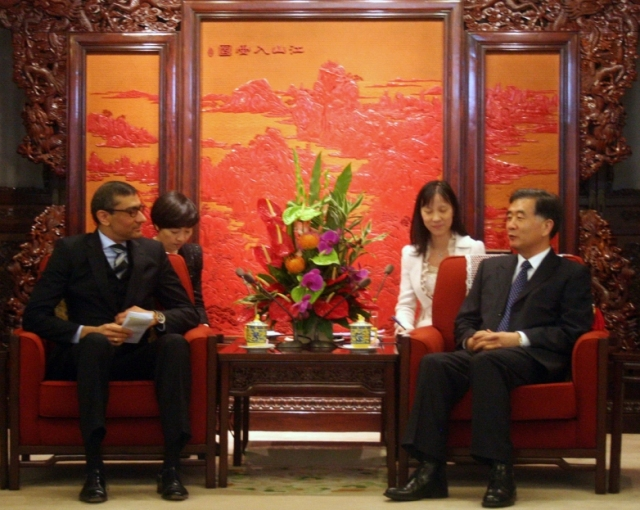 NSN CEO meets Chinese Vice Premier in Beijing