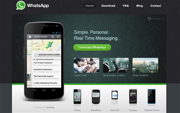 Facebook snatches WhatsApp in $16 billion deal today