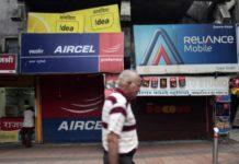 Telecom shop rural India