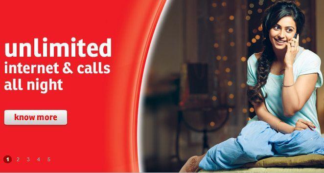 Airtel special tariffs for night