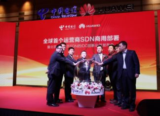 China Telecom and Huawei unveil deployment of SDN in carrier networks