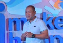 Globe Telecom president and CEO Ernest Cu