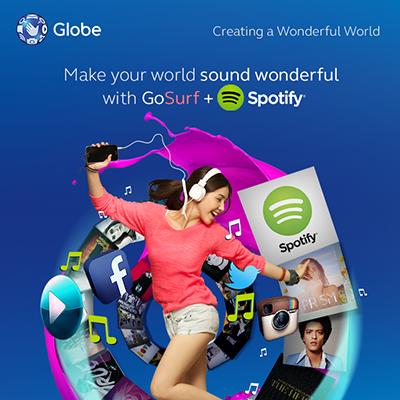 Globe Telecom campaign