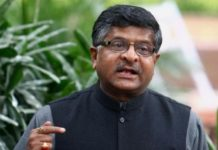 Telecom and IT minister Ravi Shankar Prasad