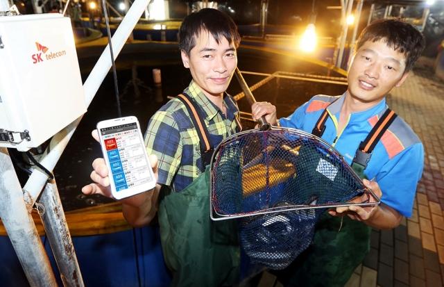 SK Telecom IoT project for eel farm in Korea