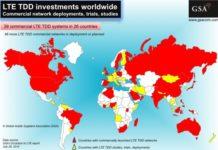 TD-LTE growth