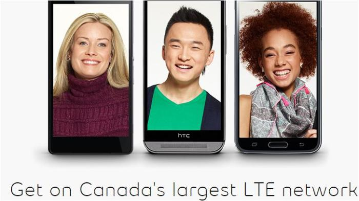 Bell Mobility 4G network