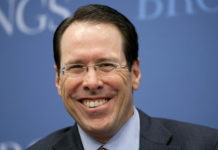 AT&T CEO Randall Stephenson image by Bloomberg