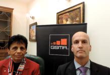 GSMA senior director Hermen Schepers and senior spectrum advisor Veena Rawat