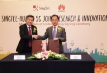 Huawei and SingTel jointly launched the 5G Joint Innovation Program at 2014 MBB Forum