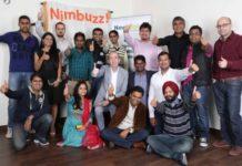 Nimbuzz Holaa team with Nigel Eastwood and Vikas Saxena