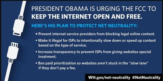 Obama wants free Internet